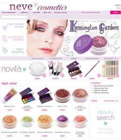 Tutte le ultime novità sul sito Neve cosmetics!