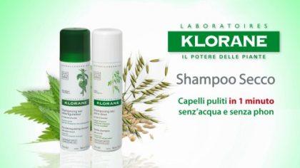 KLORANE: shampoo secco all'avena