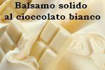 Balsamo corpo al cioccolato bianco fai da te