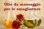 Olio da massaggio smagliature