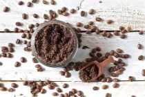 Scrub anticellulite fai da te al Caffé