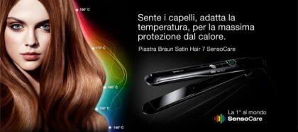 Nuova piastra capelli Satin-Hair ST780 SensoCare Braun