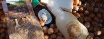 Cosmesi manuale con puro Olio di Nocciola