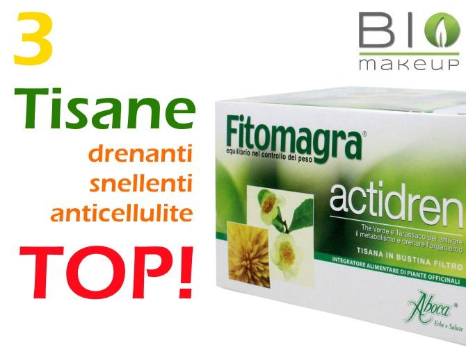 3 Tisane Drenanti anticellulite TOP!   Bio make up