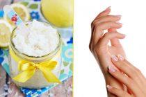 Scrub mani e unghie fai da te, sbiancante e nutriente!