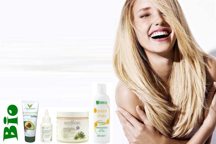 prodotti eco bio per prendersi cura dei capelli in estate