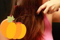 Come rinforzare i capelli con l'Olio di Zucca!