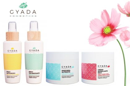 Gyada Cosmetics: prodotti eco bio per capelli