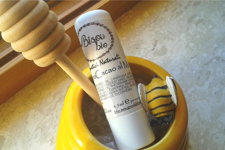 BisouBio: review balsamo labbra al Miele