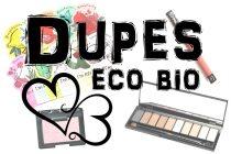 I dupes eco bio di 4 famosi cosmetici!