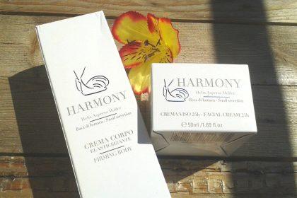 Harmony: nuova linea cosmetica alla Bava di Lumaca
