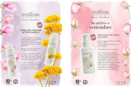 Novità Maternatura Sana 2017: shampoo, balsamo e spray!