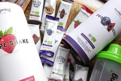 FoodSpring: alimenti biologici per sportivi