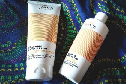 Recensione shampoo e balsamo anticrespo Gyada Cosmetics