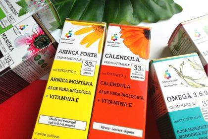 Colours of Life: nuove creme naturali per il corpo