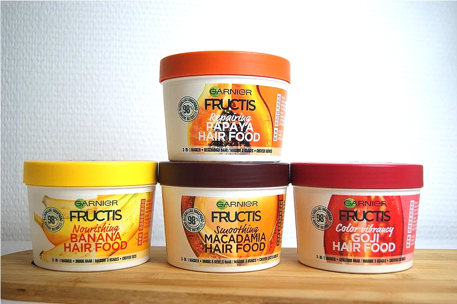 inci Garnier Fructis Hair Food