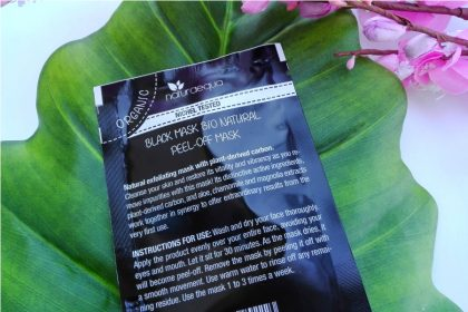 La prima BLACK MASK BIO Naturaequa recensita per voi!