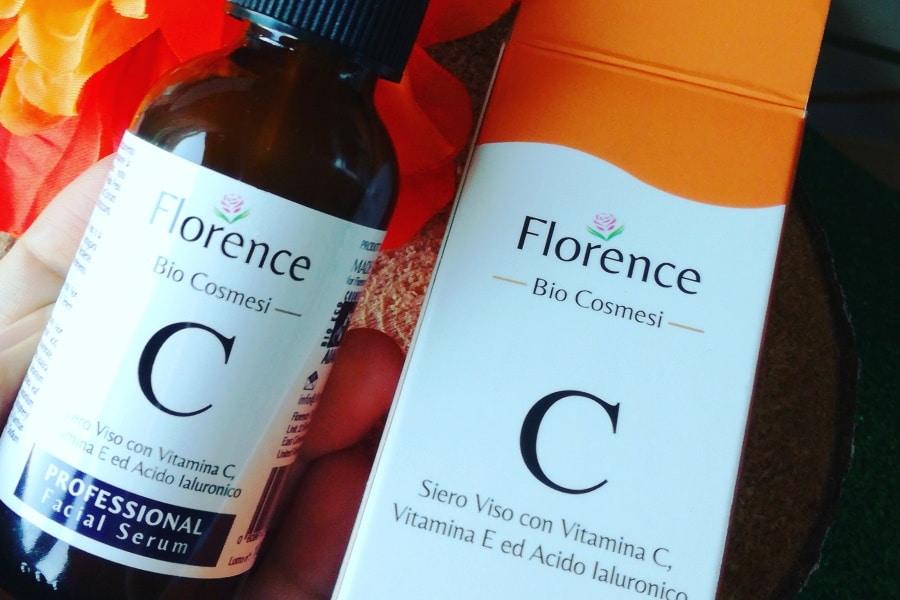florence organics bio siero viso