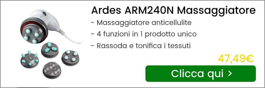 ardes arm240n massaggiatore anticellulite