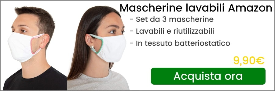 mascherine lavabili amazon