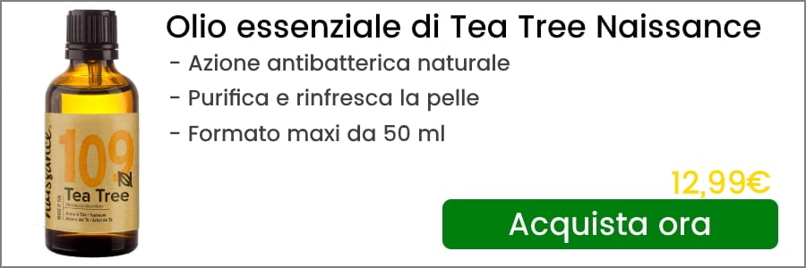 olio essenziale di tea tree naissance