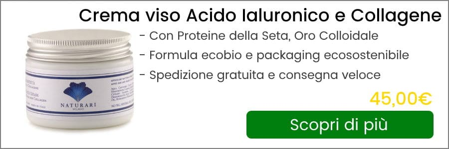 banner crema viso collagene e acido ialuronico