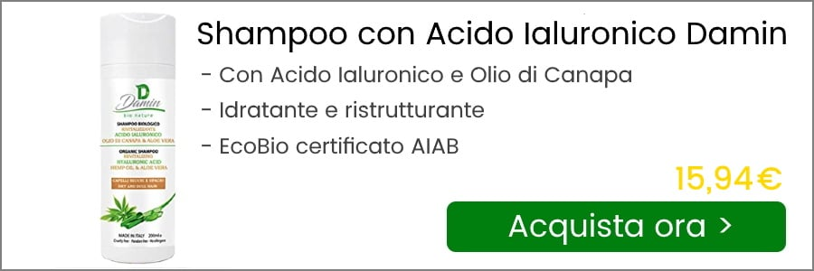 shampoo acido ialuronico damin bio