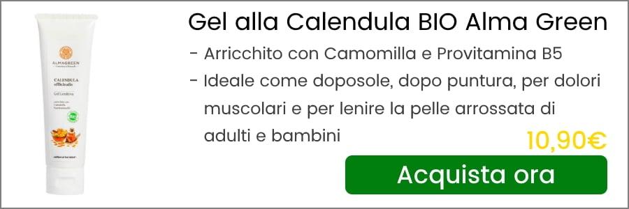 gel alla calendula alma green banner