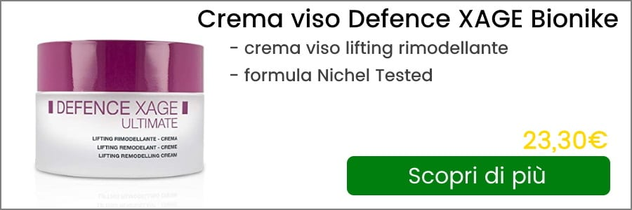 banner crema viso defence xage bionike