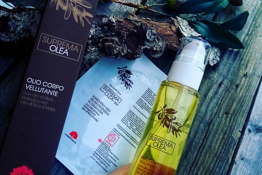 suprema olea cosmetici all'olio d'oliva