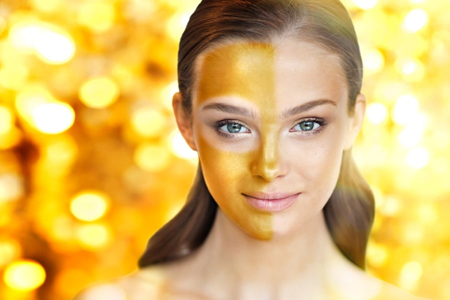 oro nei cosmetici