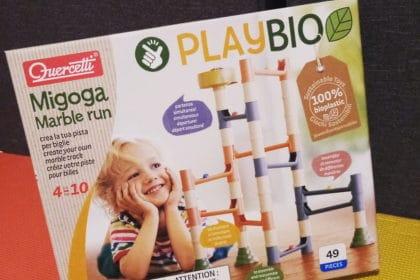 Migoga Marble Run Quercetti Play BIO: recensione gioco ecologico