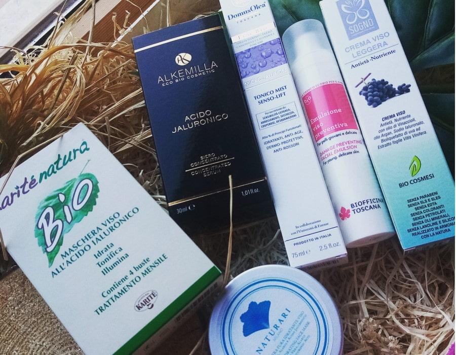 prodotti con acido ialuronico per il viso