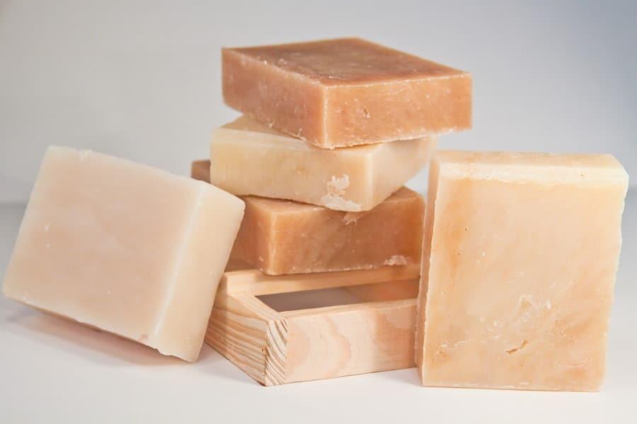 sapone per la pelle secca